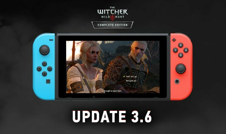 The Witcher, The Witcher 3, Switch, CD Projekt RED, tallennus, 3.6