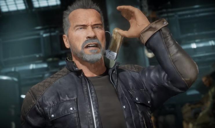 Terminator, Terminaattori, Arnold Schwarzenegger, Mortal Kombat, Mortal Kombat 11, Warner Bros., WB Games