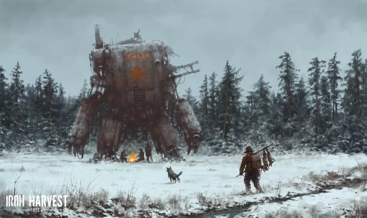 Iron Harvest -pelikuvaa