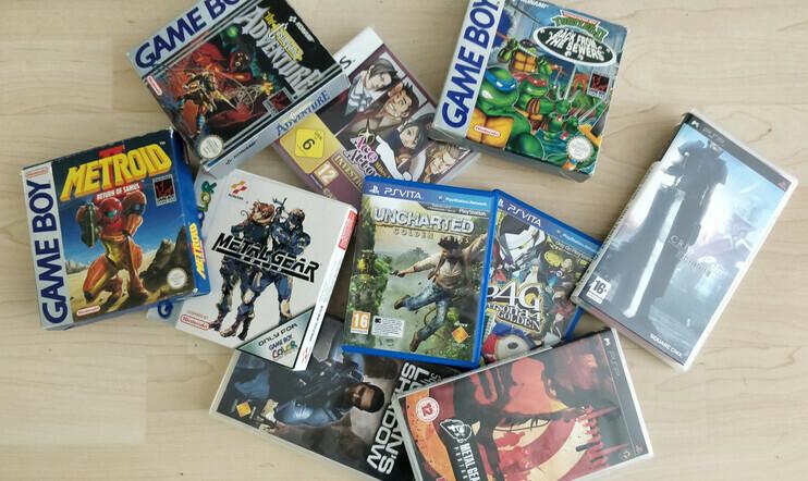Game Boy-, GBC-, GBA-, DS-, 3DS-, PSP- ja PS Vita- nostalgiaa pelikokoelmien äärellä