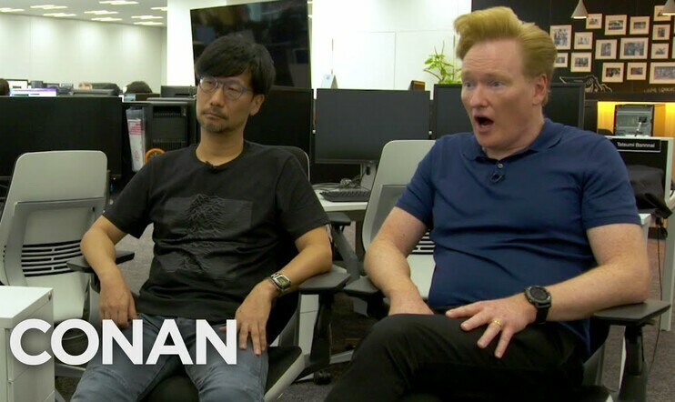 Conan O'Brien, Hideo Kojima, Death Stranding, Kojima Productions