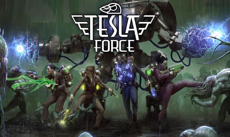 Tesla Force, The United Scientists Army, Nikola Tesla, H.P. Lovecraft, Marie Curie, Mary Shelle, 10tons, Suomi, julkaisupäivä, 21. helmikuuta, 2020