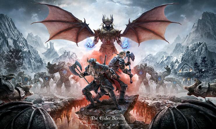 The Elder Scrolls, The Elder Scrolls Online, Console Enhanced, julkaisupäivä, MMO, Bethesda, Blackwood