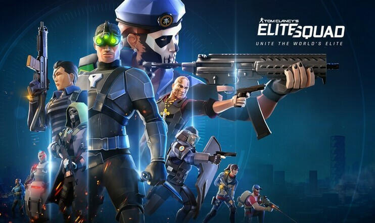 Tom Clancy's Elite Squad saapuu iOS:lle ja Androidille ensi kuussa.