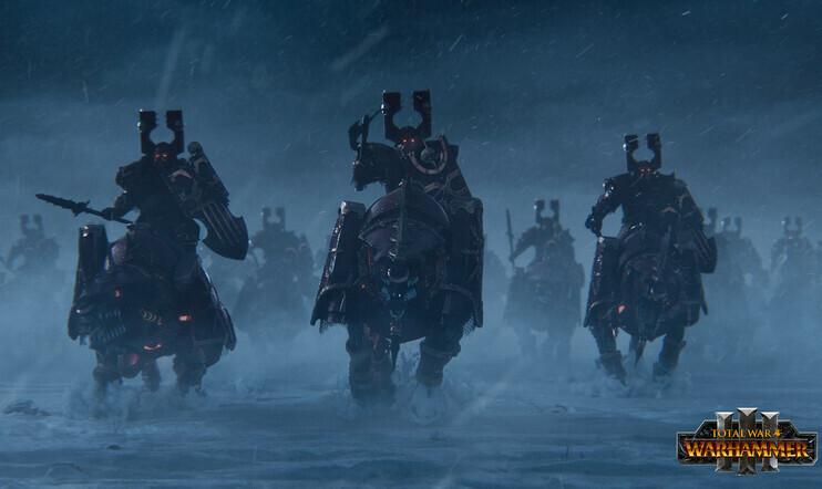 Total War: Warhammer 3, Creative Assembly, pomotaistelu, selviytyminen, tornipuolustus