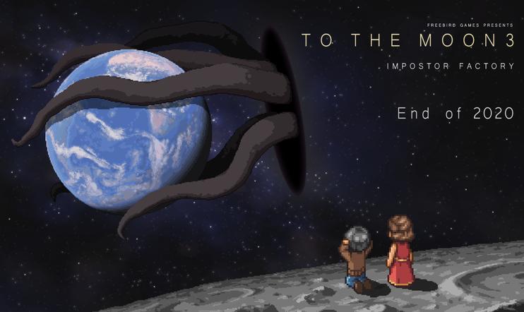 Impostor Factory, To The Moon, To the Moon 3, seikkailu, Freebird Games, Finding Paradise, 2020, seikkailu