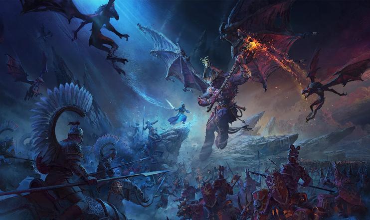 Total War: Warhammer III, Total War: Warhammer 3, Creative Assembly, Warhammer, Sega, strategia, kaaos