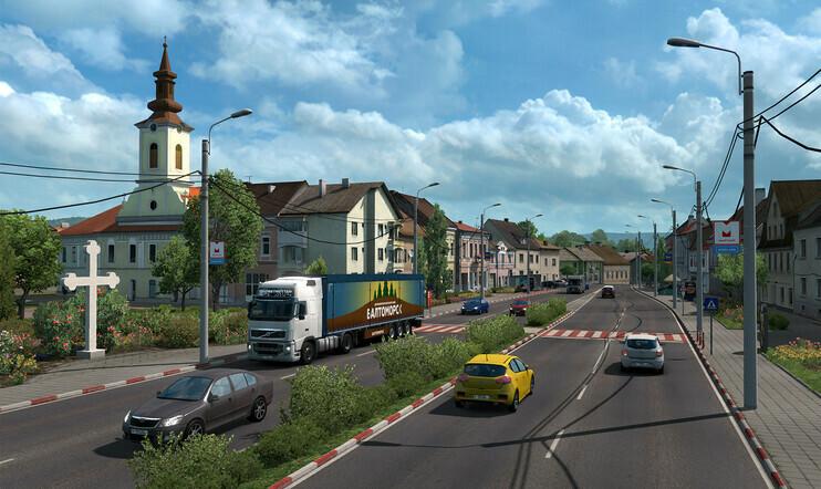 Road to the Black Sea, Euro Truck Simulator, Euro Truck Simulator 2, julkaisupäivä, 5. joulukuuta, simulaatio, simulaattori