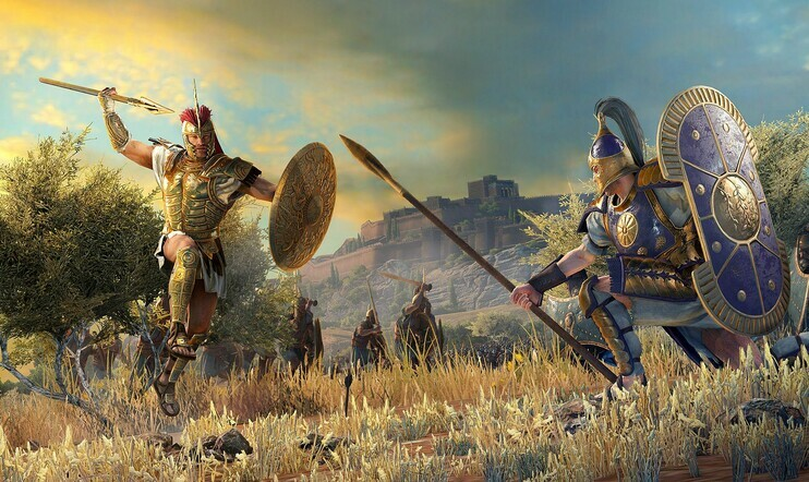 Total War Saga: Troy, Epic Games Store, Creative Assembly, Total War