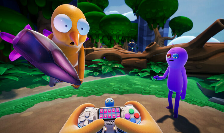 Trover Saves the Universe, Squanch Games, Tanya Watson