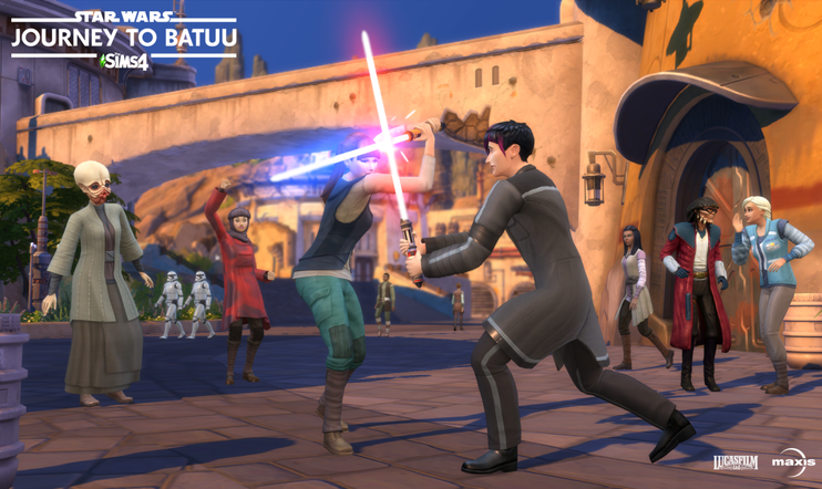 The Sims 4 Star Wars: Journey to Batuu, Star Wars Squadrons, Lego Star Wars: The Skywalker Saga
