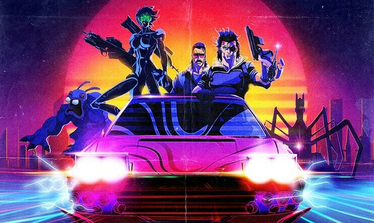Watch Dogs, Far Cry, Blood Dragon, Ubisoft, televisio, Captain Laserhawk: A Blood Dragon Vibe, animaatio,