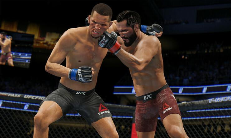 ufc, UFC 4, ea, EA Sports, vapaaottelu, nyrkkeily, Anthony Joshua, Tyson Fury