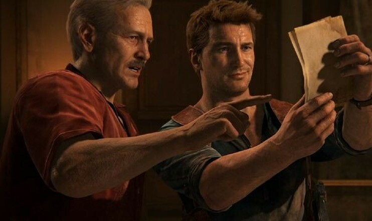 Uncharted Nathan Drake & Sully
