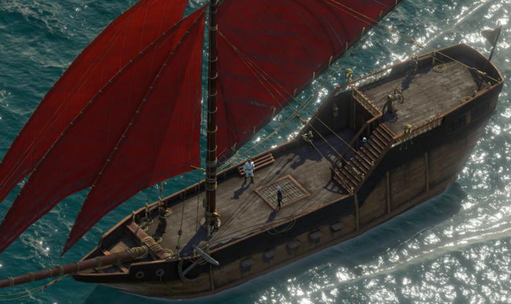 Kapteeni käskee – kaikki mitä sinun tarvitsee tietää Pillars of Eternity II:n meriseikkailuista