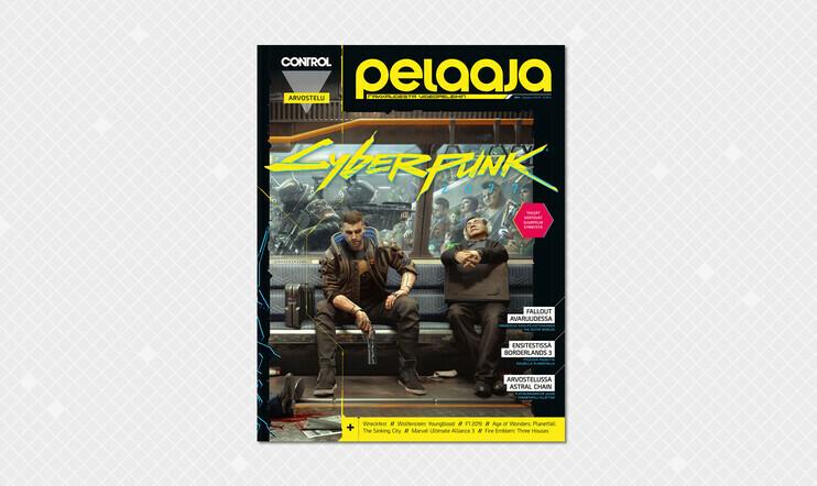 Tältä näyttää syyskuun Pelaaja-lehden superkomea Cyberpunk 2077 -kansikuva!