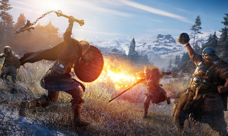 PelaajaHD, Pelaaja.fi testaa, Assassin's Creed, Assassin's Creed Valhalla, pelikuva,