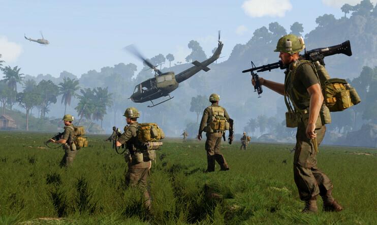 Vietnam, Arma 3, Arma, S.O.G. Prairie Fire, fps,