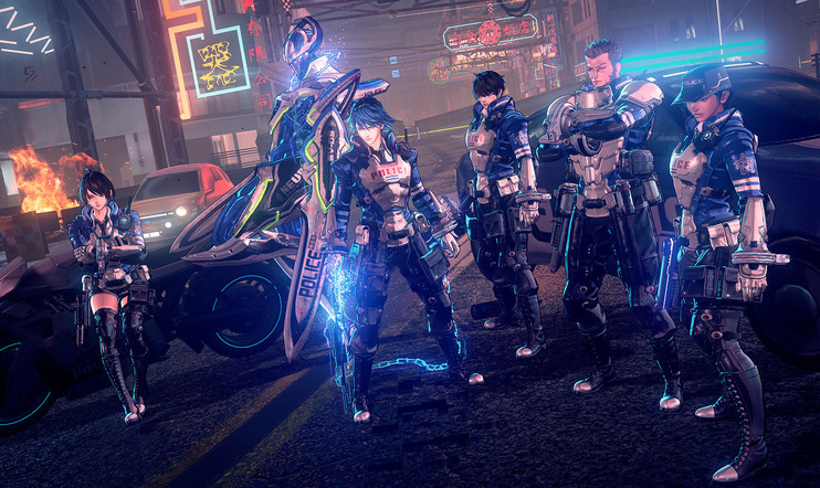 Astral Chain PlatinumGames Hideki Kamiya