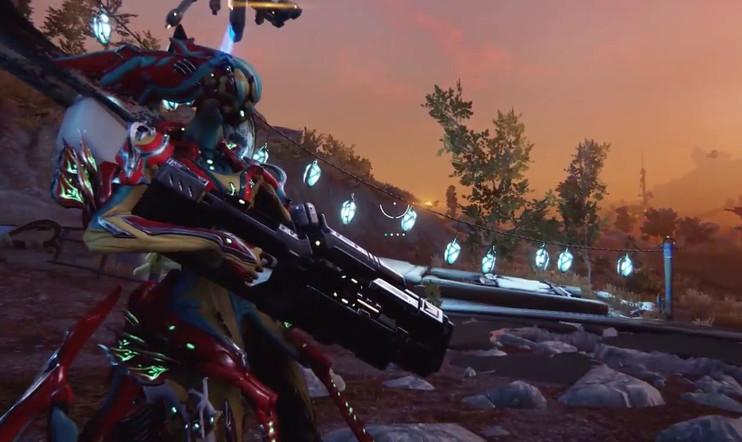 Pelaaja pelaa: Destinyn ilmainen kilpailija Warframe: Plains of Eidolon