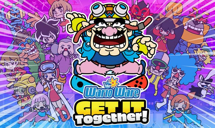 WarioWare: Get It Together, WarioWare, Get It Together, Nintendo, julkaisupäivä, minipeli, mikropeli