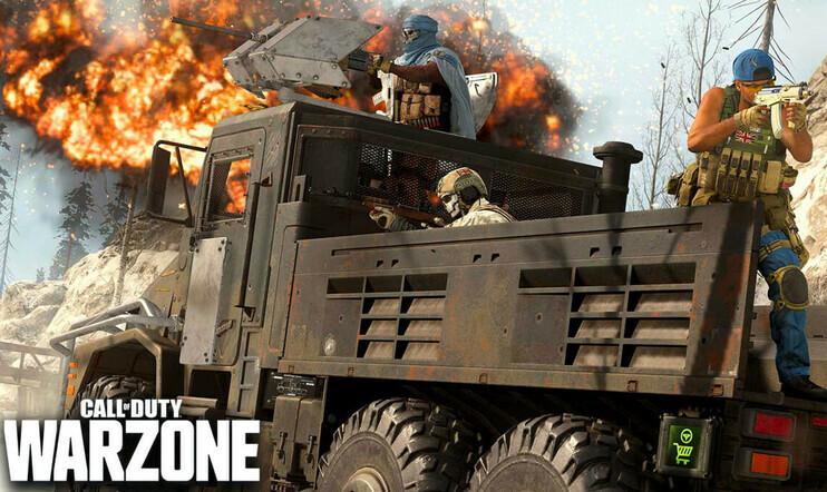 Call of duty: warzone, bugi, kuorma-auto