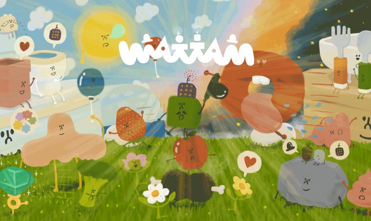 Wattam, 17. joulukuuta, julkaisupäivä, Keita Takahashi, Annapurna, Funomena, Annapurna Interactive, Katamari