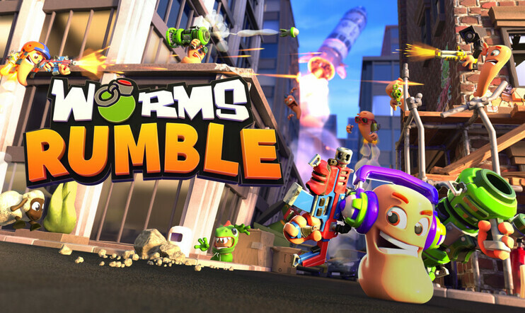 Worms Rumble, Team17, 2020, ps5, PlayStation 5, Worms, Liero