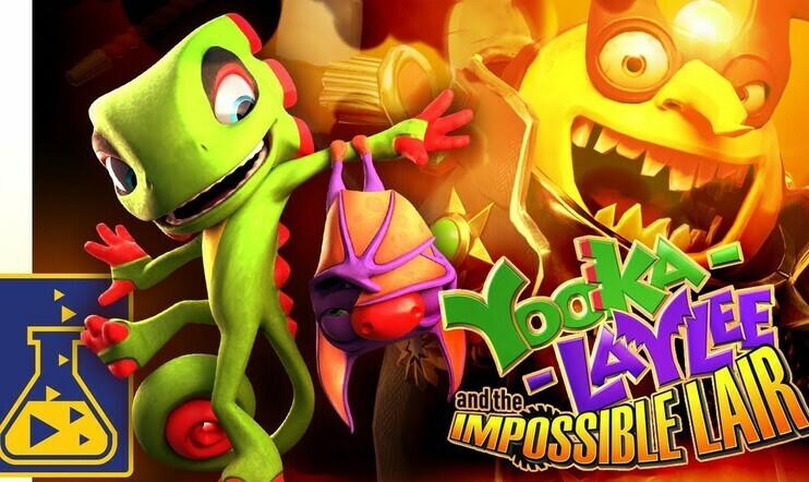 Playtonic Games, Yooka-Laylee, Yooka-Laylee and the Impossible Lair, Banjo-Kazooie, tasoloikka, julkaisupäivä, 8. lokakuuta,