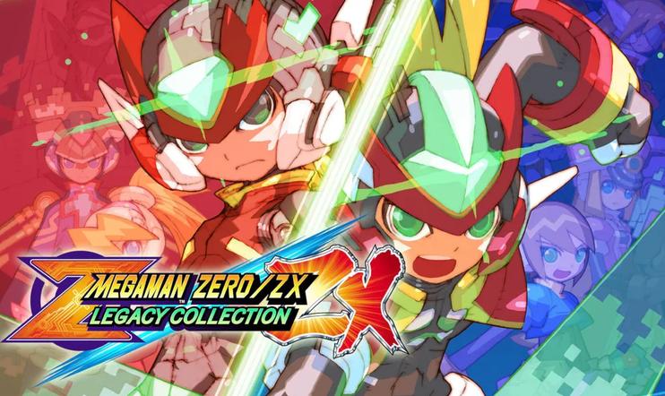Mega Man Zero / ZX Legacy Collection, Mega Man Zero, Mega ManZX, Legacy Collection, Capcom, Mega Man, julkaisupäivä, 1. tammikuuta, 2020,